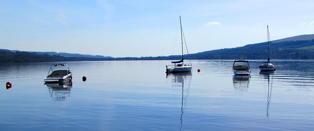 Boat Mooring Loch Lomond