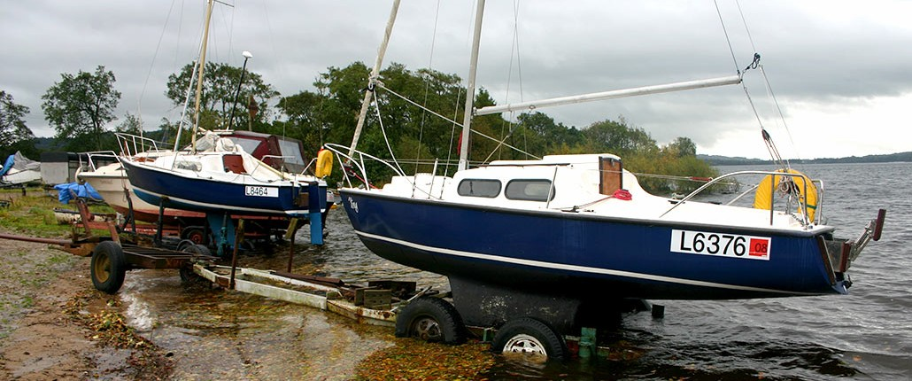 Boat Mooring Inchmurrin Island