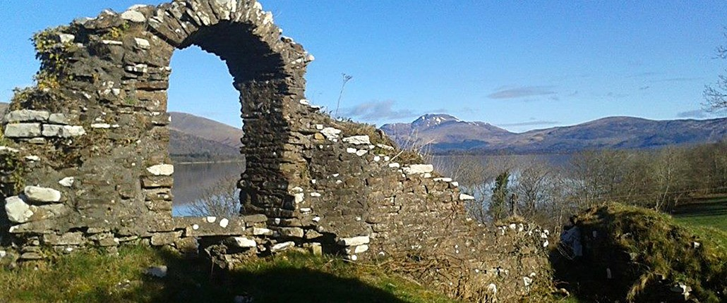 Inchmurrin Island Castle Ruins